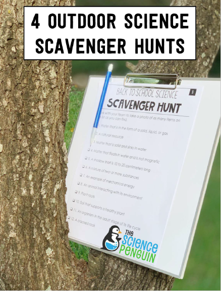 Outdoor Scavenger Hunts